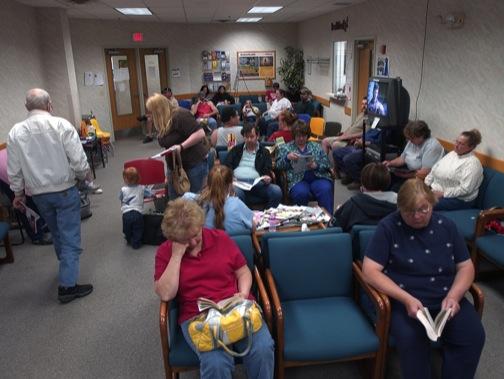 Full Doctor S Office Waiting Room